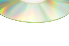Compact discs with clipping path Royalty Free Stock Image