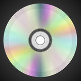Compact disk. Realistic ial illustration of disk Stock Images