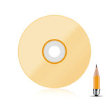 Compact disk Stock Image