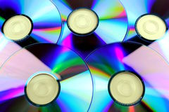 Compact disk - CD. Data background Stock Photo