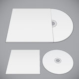 Compact Disk Template Royalty Free Stock Photos