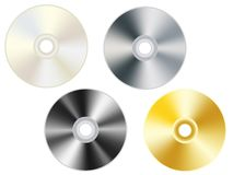 Compact disks Stock Photography