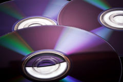 Compact disks Royalty Free Stock Images
