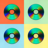 Compact disks Royalty Free Stock Image