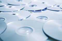 Compact disks Stock Image