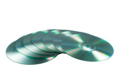 Compact disks Stock Photos