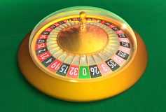 Compact electronic Roulette royalty free stock photos