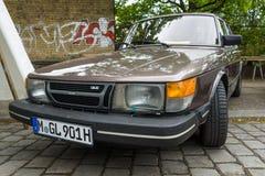 Compact executive car Saab 900 GLE, 1983 Royalty Free Stock Photos