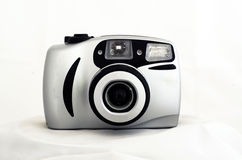 Compact film camera Royalty Free Stock Photos
