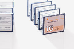 Compact Flash Card Royalty Free Stock Images