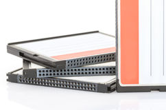 Compact flash memory card Royalty Free Stock Photo