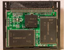 Compact flash memory Stock Photos
