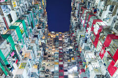 Compact flat in Hong Kong Royalty Free Stock Photo