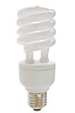 Compact florescent light bulb Royalty Free Stock Photography