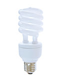 Compact Florescent Lightbulb Stock Photo