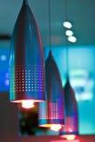 Compact florescent lights Stock Photos