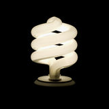 Compact Flourescent Light Bulb Stock Image