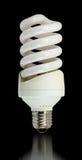 Compact fluorescent bulb Stock Photos
