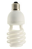Compact fluorescent lamp Royalty Free Stock Images