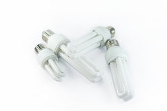 Compact fluorescent lamp Stock Photo