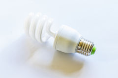 Compact fluorescent lamp Royalty Free Stock Photos