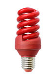 Compact fluorescent light bulb Stock Photo