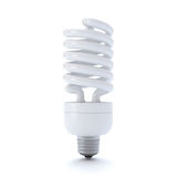 Compact Fluorescent Light bulb Royalty Free Stock Image
