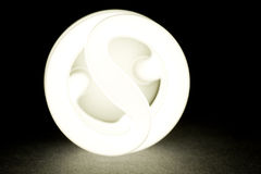 Compact Fluorescent Lightbulb Royalty Free Stock Image