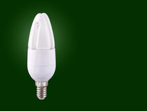 Compact Fluorescent Lightbulb Royalty Free Stock Photography