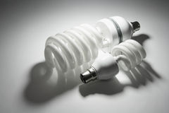 Compact Fluorescent Lightbulbs Royalty Free Stock Image