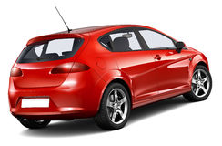 Compact hatchback car Royalty Free Stock Photography
