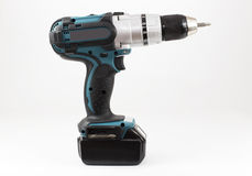 Compact high power cordless drill Royalty Free Stock Photo