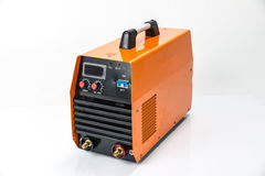 The compact inverter welding machine Royalty Free Stock Images
