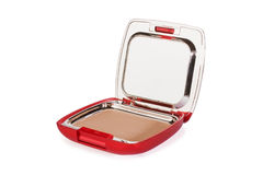 Compact Kosmetisch Poeder Royalty-vrije Stock Foto's