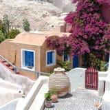 Compact living on Santorini Stock Photography