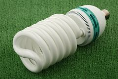 Compact luminescent bulb Stock Photo