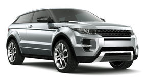 Compact Luxury SUV Royalty Free Stock Photos