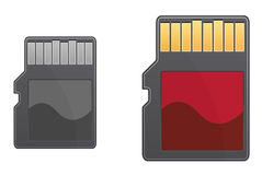 Compact memory card Royalty Free Stock Photo