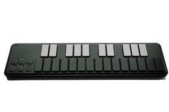 Compact MIDI keyboard Stock Photography