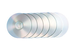 Compact optical disc. CD. Stock Photos