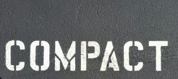 Compact asphalt Royalty Free Stock Photography