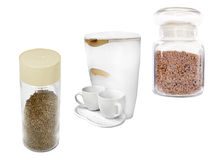 Compact percolator Stock Photo