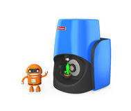 Compact personal 3D scanner Royalty Free Stock Photos