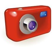 Compact photo camera Stock Photo