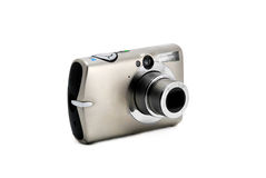 Compact photo camera isolated Stock Image