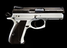 Compact Pistol Stock Photo