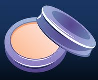 Compact powder Stock Photography