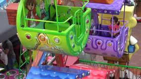 Compact pretpark stock footage
