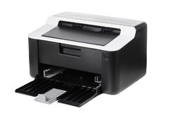 Compact printer isolated Royalty Free Stock Photos