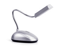 Compact reading lamps Stock Images